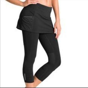 Athleta skirt leggings skirted capri